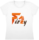 t-shirt equitation fille Fizzy demi-pension cheval poney blanc