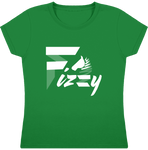 t-shirt equitation fille Fizzy demi-pension cheval poney vert
