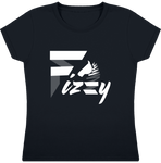 t-shirt equitation fille Fizzy demi-pension cheval poney navy