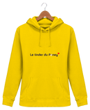Sweat equitation femme tinder du poney jaune