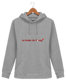 Sweat equitation femme tinder du poney gris