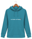 Sweat equitation femme tinder du poney bleu Hawaï