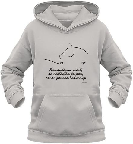 sweat enfant citation baucher