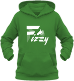 Sweat enfant Fizzy demi-pension cheval poney vert
