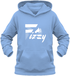 Sweat enfant Fizzy demi-pension cheval poney bleu ciel