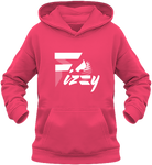 Sweat enfant Fizzy demi-pension cheval poney fuchsia