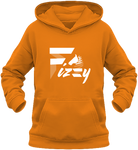 Sweat enfant Fizzy demi-pension cheval poney orange