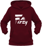 Sweat enfant Fizzy demi-pension cheval poney bordeau