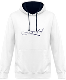 Sweat bicolore cheval equifeel homme femme white