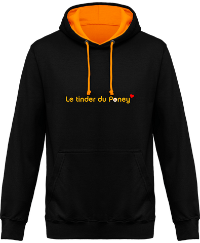 Sweat bicolore Tinder du poney