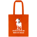 Cadeau equitation sac cheval orange
