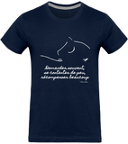 Tequi-Passion Tee-shirt mixte citation Baucher