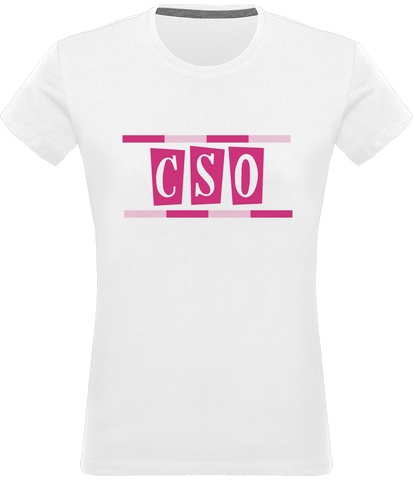 T-shirt femme col rond CSO