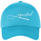 Casquette equifeel cheval turquoise