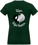 Tequi-Passion Tee-shirt femme col V Citation Baucher