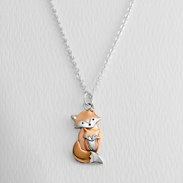 Mama Fox Necklace
