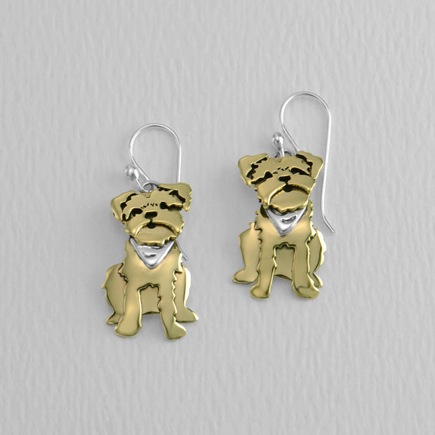 Yorkie Wire Earrings