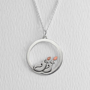 Quail Chicks Necklace