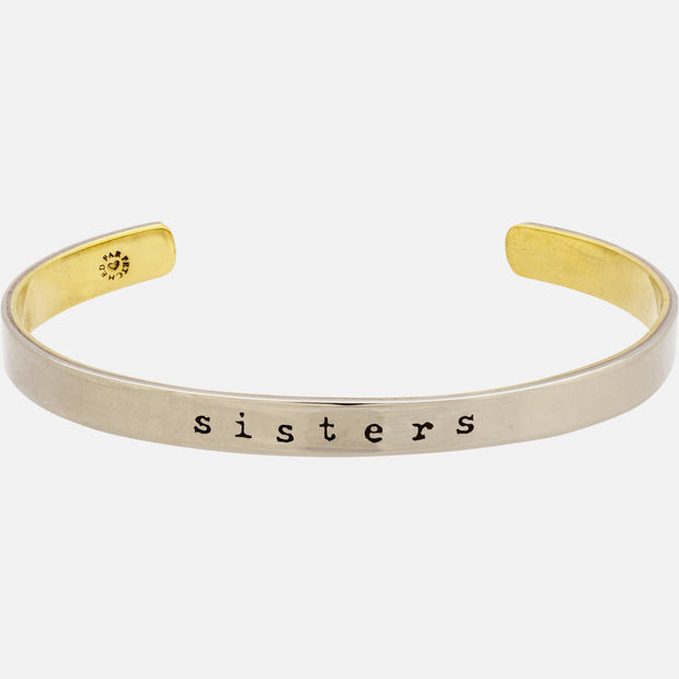 Sisters Forever Cuff