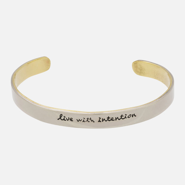Live With Intention Cuff