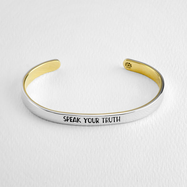 Speak Your Truth Cuff