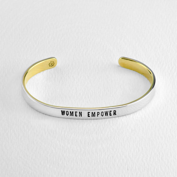 Women Empower/Girls Compete Cuff