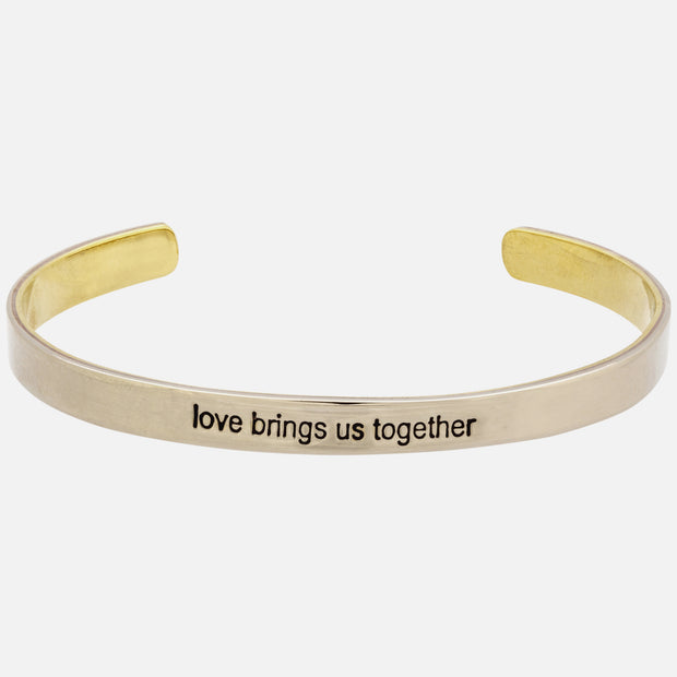 Love Brings Us Together Cuff