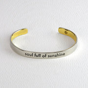 Soul Full of Sunshine Cuff