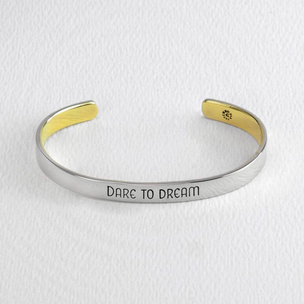 Dare to Dream Cuff