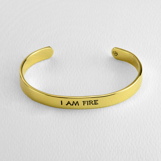 Aries- I AM FIRE cuff