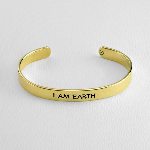 Taurus- I AM EARTH cuff