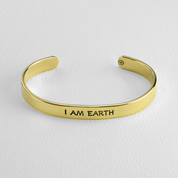 Virgo- I AM EARTH cuff