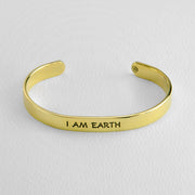 Capricorn- I AM EARTH cuff