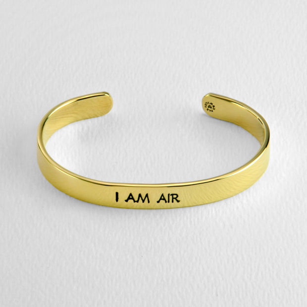 Aquarius- I AM AIR cuff