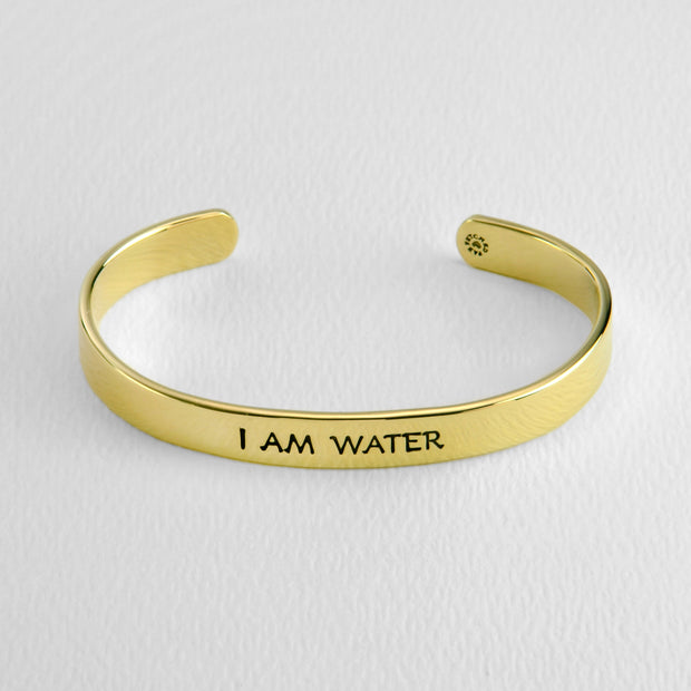 Cancer- I AM WATER cuff