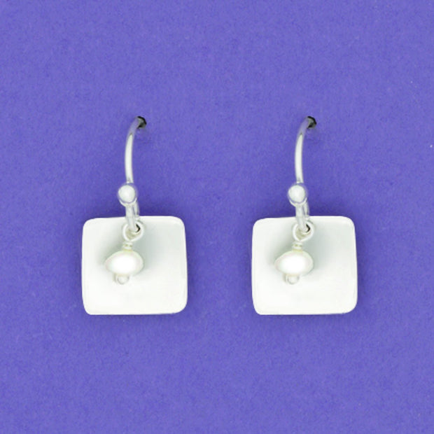 Sterling And Pearl Earwire