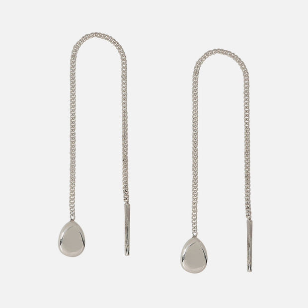 Balanced Sterling Threader Earrings