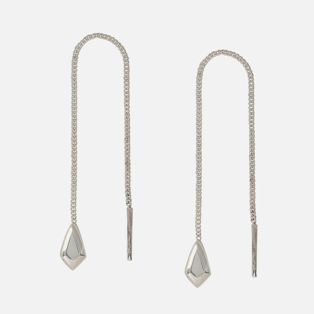 Steadfast Sterling Threader Earrings