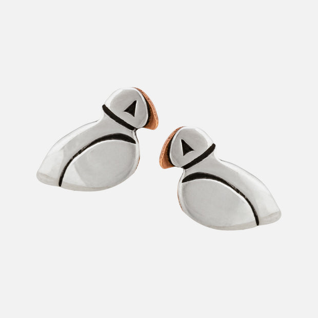 Picadilly Puffin Post Earrings