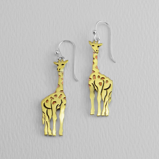 Giraffe Wire Earrings