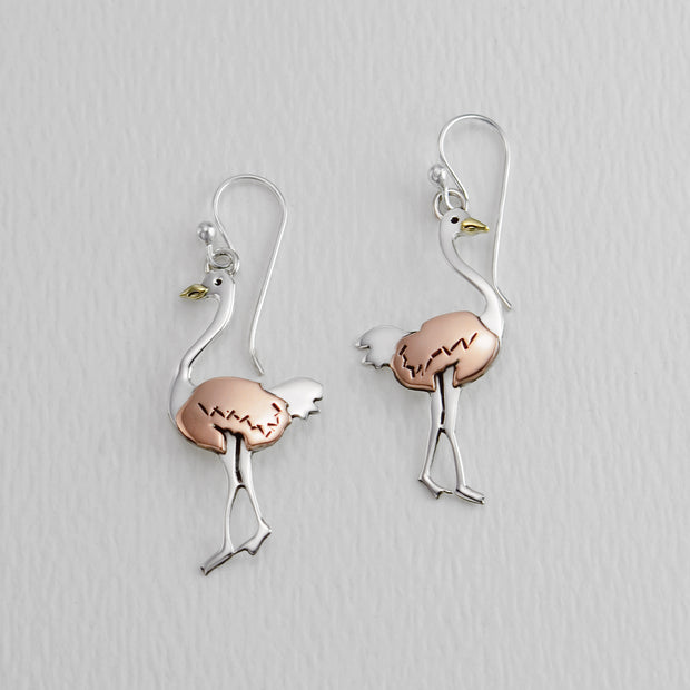 Ostrich Wire Earrings