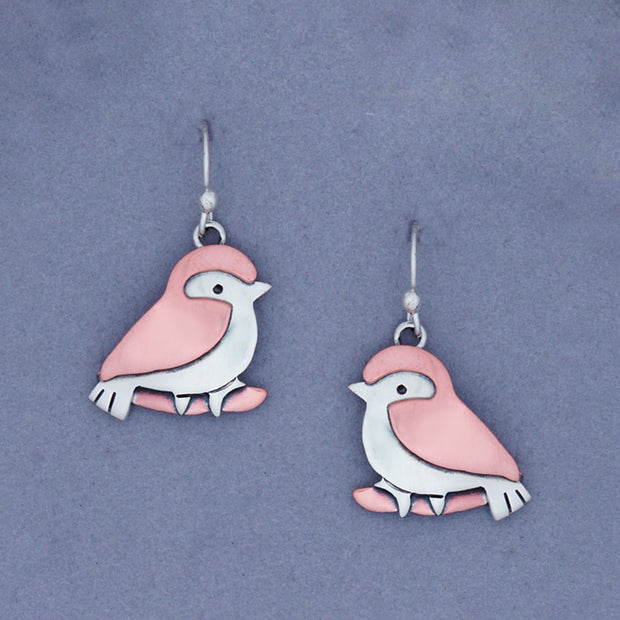 Love Bird Sterling Earwire