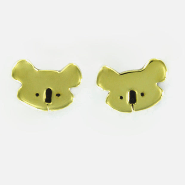 Koala Sterling And Brass Post