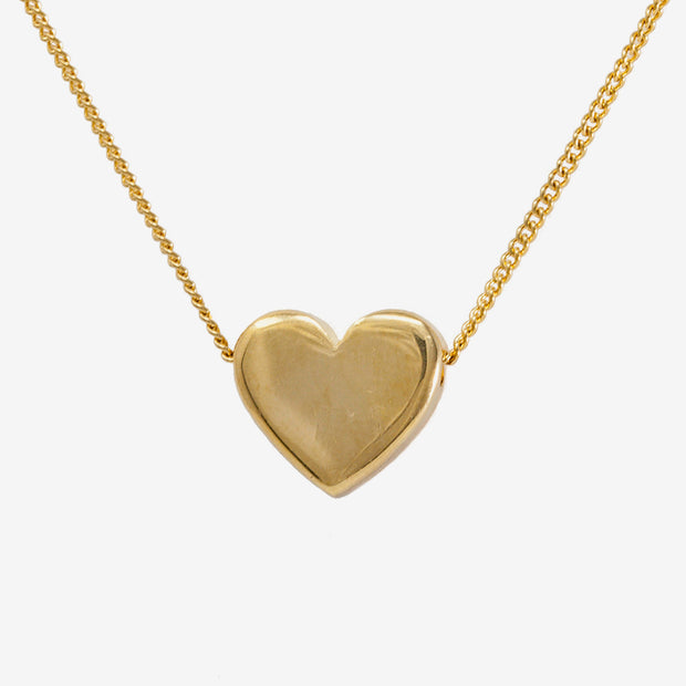 "Adoring Golden necklace on Sterling Silver 18"" chain"
