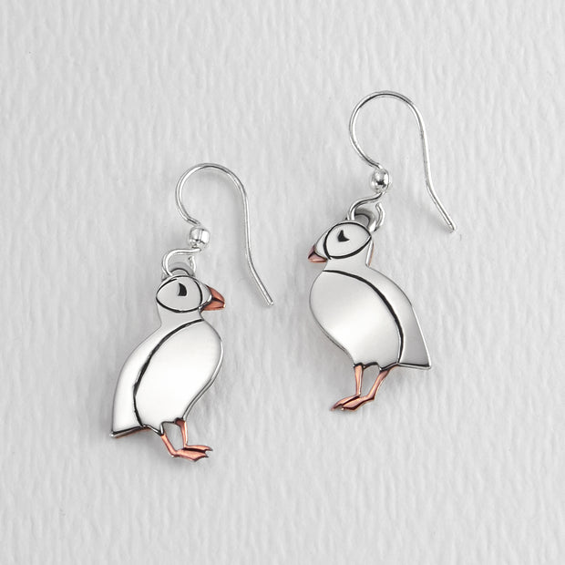 Picadilly Puffin Wire Earwire