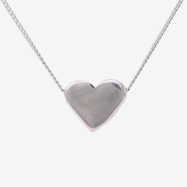 "Adoring Sterling necklace on Sterling Silver 18"" chain"
