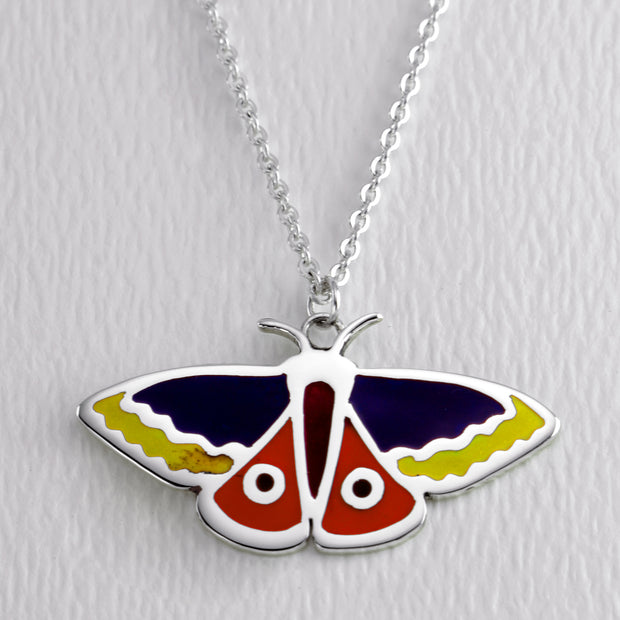 Atlas Moth Full Color Necklace