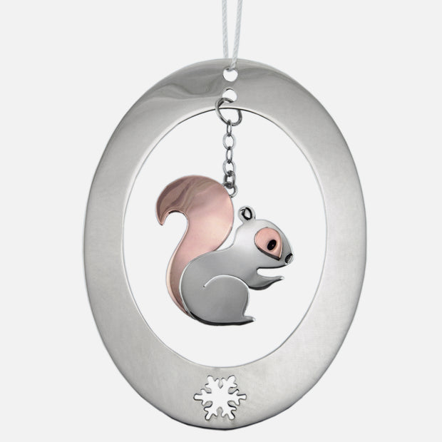 Squirrel Nutkin Ornament Charm