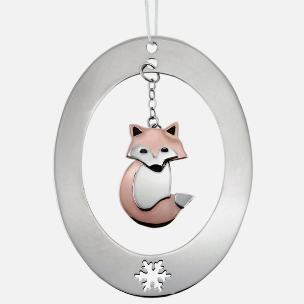 Fanciful Fox Ornament