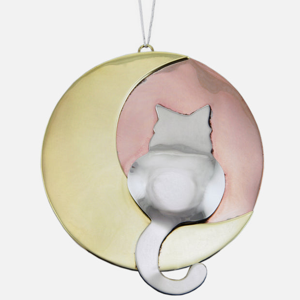 Moonbeam Kitty Ornamental Charm